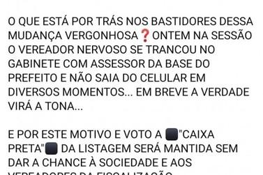 """Tiago Costa vê reviravolta na Câmara como ato """"lamentável"""""""