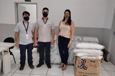 Empresa Isa Cteep faz doação para Fundo Social