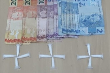 Rapaz é detido por tráfico de drogas no Santa Luzia
