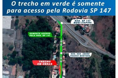Saae interdita trecho da rodovia André Franco Montoro nesta segunda, 13