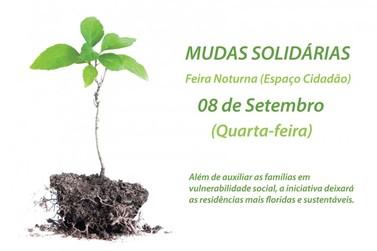 """Segunda edição da """"Mudas Solidárias"""" acontece nesta quarta-feira, 8"""