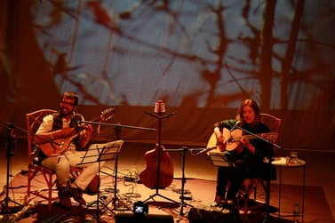 Consuelo de Paula e João Arruda apresentam o espetáculo em Caldas