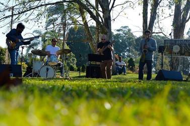 Música instrumental acontece hoje no Parque Municipal