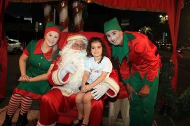 Papai Noel e Motor Home atendem até o dia 23 de dezembro