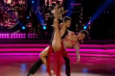 Ao som da rumba, Raissa Santana estreia no Dancing Brasil