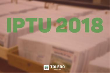 Carnês do IPTU começam a ser entregues aos contribuintes no dia 1º