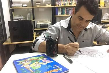 Cartunista umuaramense concorre a prêmio nacional de quadrinhos