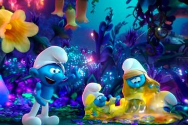 """""""Os Smurfs e a Vila Perdida"""" é atração do Cineclube do IMS-Poços"""