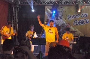 Frevo na Fobica vai animar a Praça Pedro Sanches no Carnaval