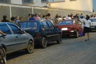 Moradora de Andradas desabafa sobre longa fila na Policlínica