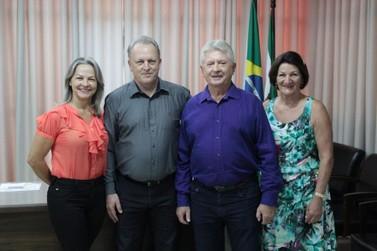 Prefeito Dr. Franus retorna a Prefeitura Municipal de Cafelândia