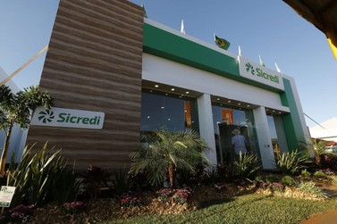 Sicredi leva agência ao Show Rural Coopavel 2018