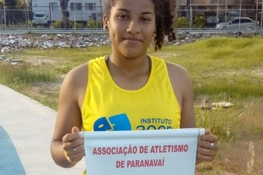 Atleta de Paranavaí bate recorde e é campeã brasileira em lançamento de dardo