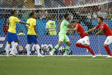 Brasil empata com a Suíça em estreia na Copa
