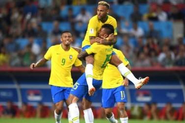Brasil vence Sérvia por 2 x 0 e enfrentará México nas oitavas de final