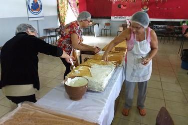 Capela de Paranavaí servirá quase 16 metros do bolo de Santo Antônio