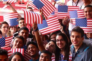 Estudantes do ensino médio podem fazer intercâmbio gratuito para os EUA