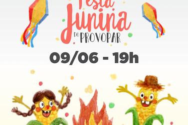 No próximo sábado tem a tradicional Festa Junina do Provopar