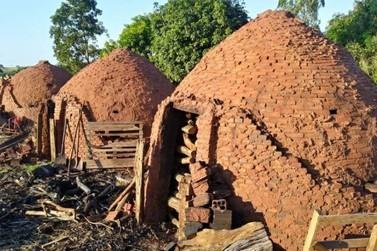 Quase meia tonelada de carvão vegetal é apreendida em carvoaria de Guairaçá