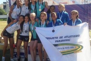 Quatro atletas de Paranavaí conquistam ouro nos Jogos Escolares do Paraná
