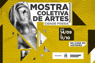 Artistas poderão inscrever obras para a Mostra Coletiva de Artes Cidade Poesia