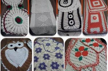 Bazar de tapetes de crochê produzido pelos presos de Paranavaí segue até às 16h