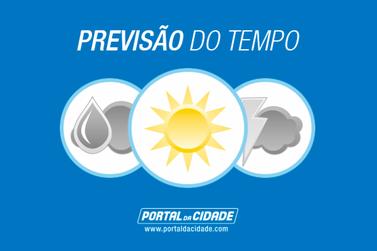 Fim de semana terá tempo firme e temperaturas agradáveis em Paranavaí