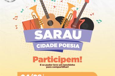 Neste sábado (4) tem Sarau Cidade Poesia no Jardim São Vicente