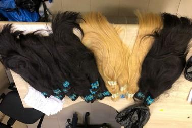 Passageiros são presos com cabelo contrabandeado no aeroporto de Maringá