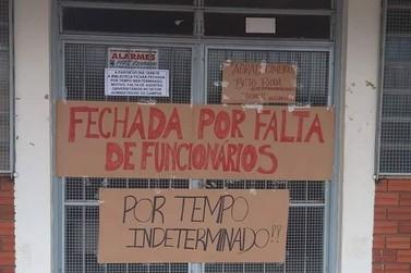 Por falta de servidor, biblioteca da Unespar de Paranavaí está fechada