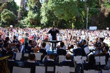 Adiada a apresentação da Orquestra Filarmônica UniCesumar em Paranavaí