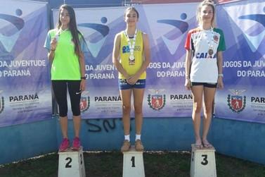 Atletismo de Paranavaí conquista 14 medalhas nos Jogos da Juventude do Paraná