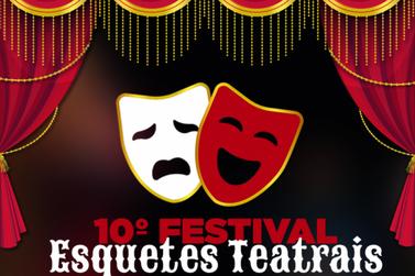 Inscrições para o 10° Festival de Esquetes até o dia 21 de outubro