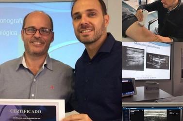 Dr. Denis Graciotto participa de Curso de Ultrassonografia Cinesiológica