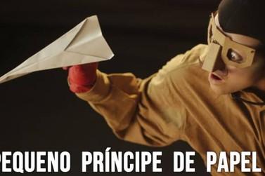 Grupo de Teatro Girino apresenta hoje o espetáculo 'O Pequeno Príncipe de Papel'