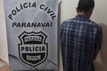 Homem acusado de abusar sexualmente de quatro crianças é preso em Paranavaí