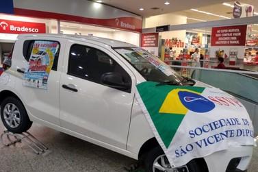 Lar Vicentino vai sortear carro 0 km e R$ 10 mil, em Show de Prêmios beneficente