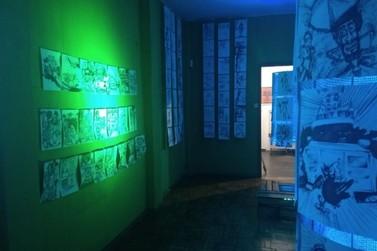 Obras de 12 artistas estão em exposição na Mostra Coletiva de Artes