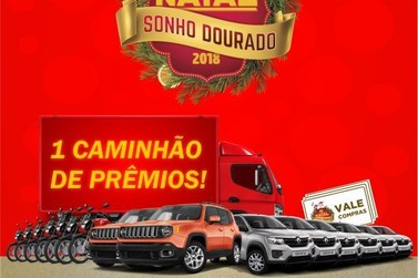 "Comércio de Paranavaí participa da campanha ""Natal, sonho dourado"""