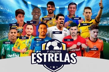 Jogo das Estrelas será neste domingo (23), no Estádio Waldemiro Wagner