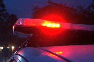 Ladrões furtam toda a fiação elétrica, lâmpadas e diversos objetos em residência
