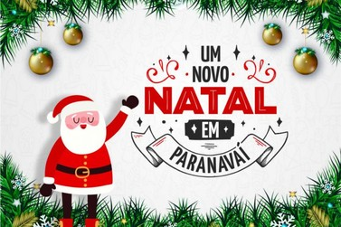 Papai Noel chega hoje (7) em Paranavaí