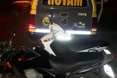 Polícia Militar encontra motos furtadas em casa abandonada na Vila Operária