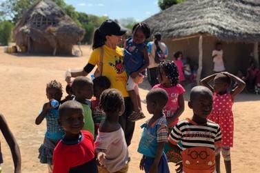 Voluntárias de Paranavaí relatam sobre experiência na África em missão social