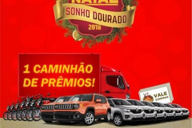 ACIAP entrega caminhão de prêmios à ganhadora da campanha de Natal