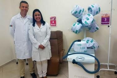 Paranavaí já conta com equipamento que reduz queda capilar durante quimioterapia