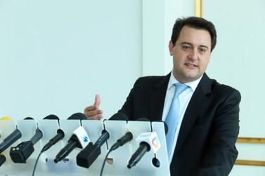 Ratinho Junior formaliza reforma administrativa, com corte de 15 secretarias