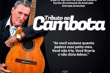 Artista paranavaiense, Cambota, será homenageado com Tributo no próximo dia 16