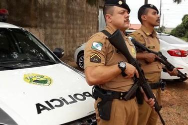 Polícia Militar de Querência do Norte recebe armamento mais potente