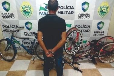 Policial reconhece objetos furtados da casa dele, durante abordagem em Paranavaí